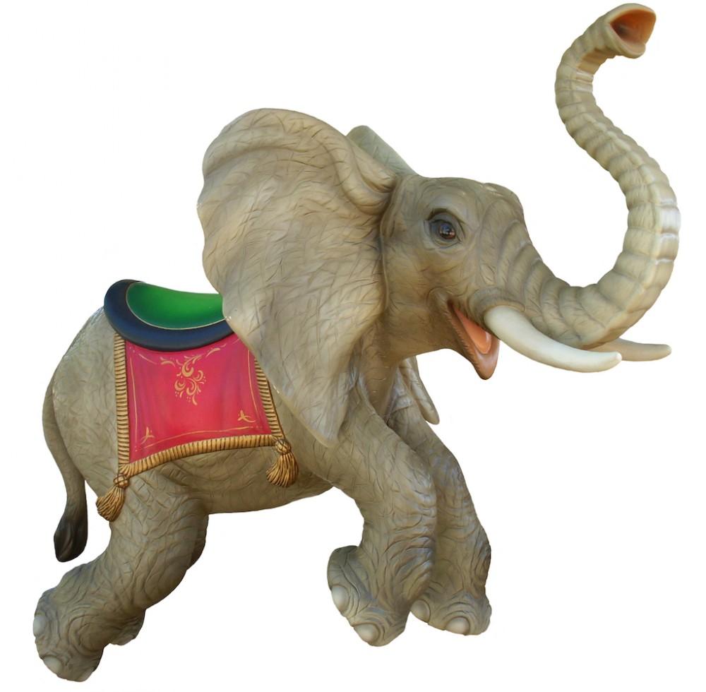 CB320 - Elephant Carousel Animal