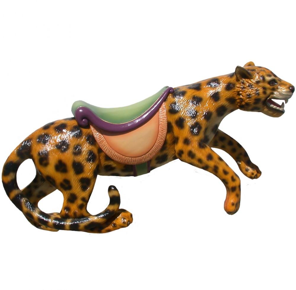CB706 - Leopard, Jaguar or Panther Carousel Animal